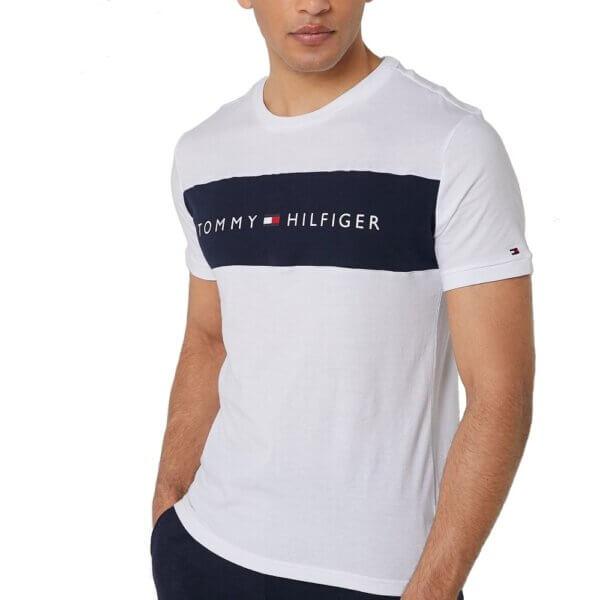 Tommy Hilfiger tričko pánske Original CN Tee SS 100 biele alt