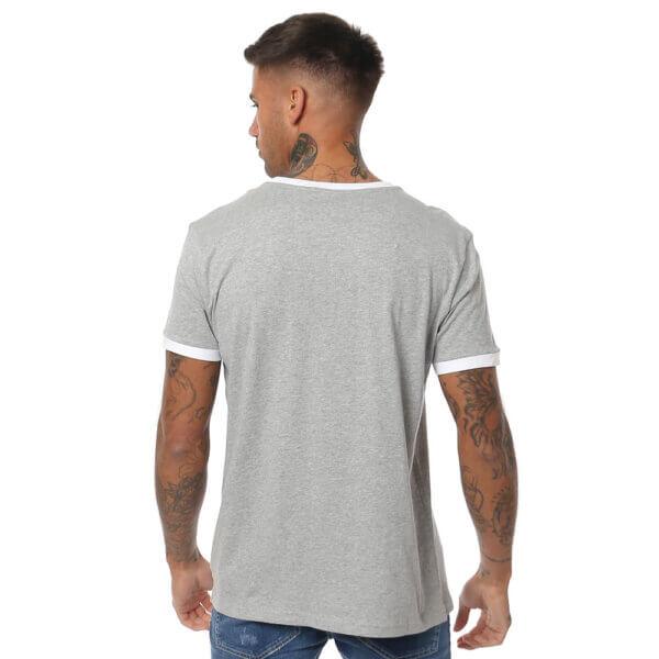 Tommy Hilfiger tričko pánske Original CN Tee SS Logo Flag 004 šedé_03