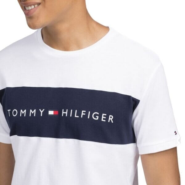 Tommy Hilfiger tričko pánske Original CN Tee SS 100 biele