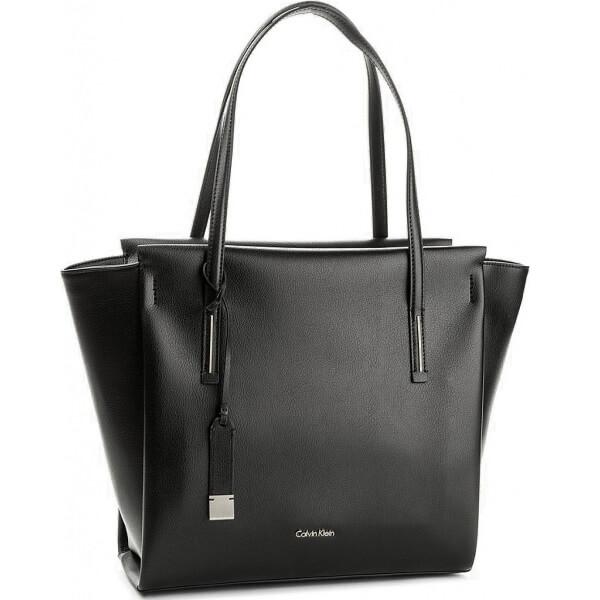 Kabelka Calvin Klein Frame Large Shopper čierna K60K603977 001