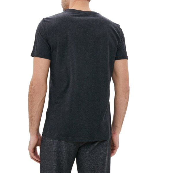 Tommy Hilfiger tričko pánske CN SS Tee Logo UM0UM01623 091 šedé_2