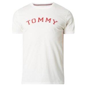 Tričko Tommy Hilfiger CN SS Tee Logo UM0UM01623 100 biele 1