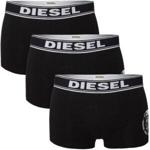 Boxerky Diesel 3 Pack Boxer čierne 01