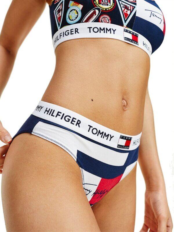 Tommy Hilfiger nohavičky Bikini Print Logo 01S 1