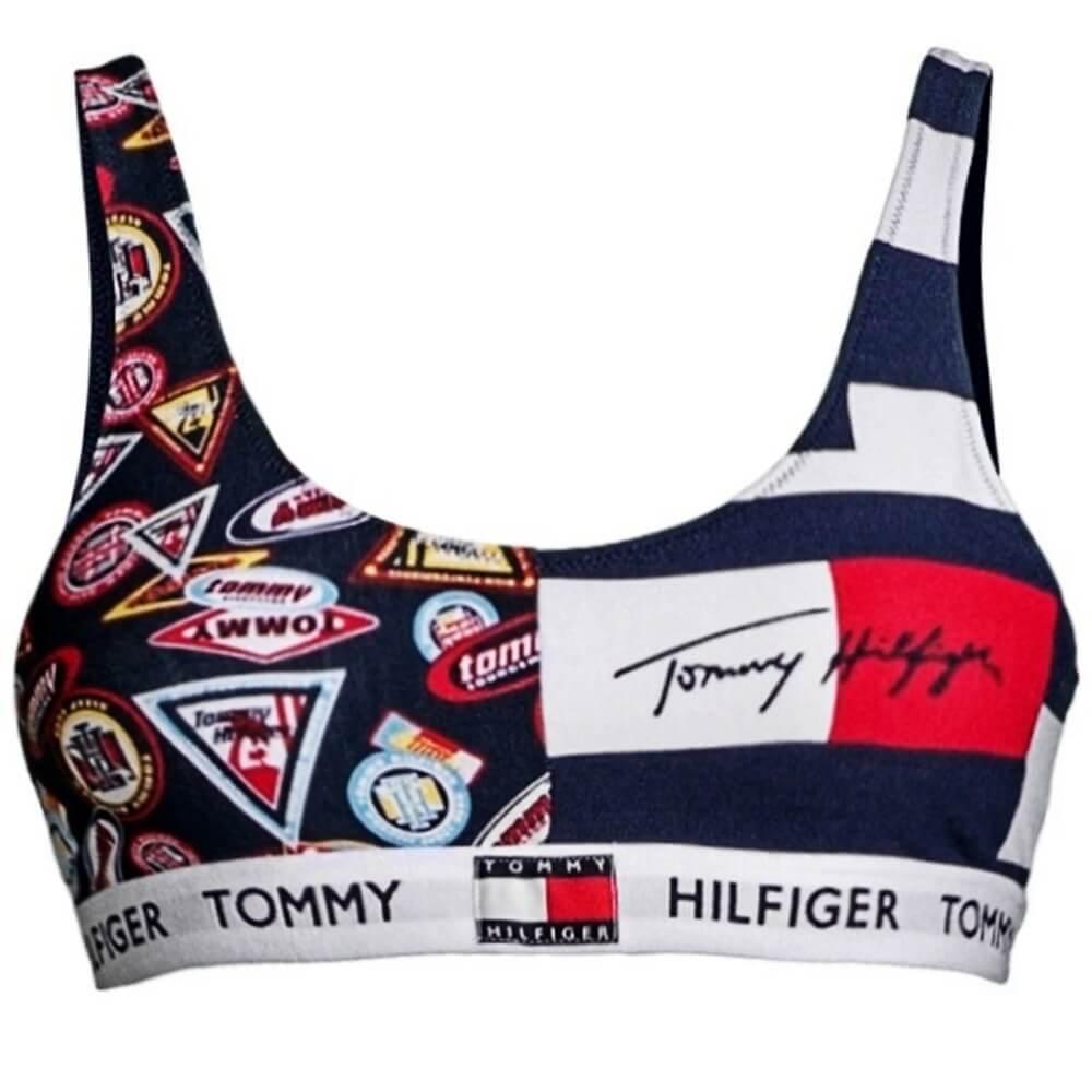 Tommy Hilfiger podprsenka Bralette Print