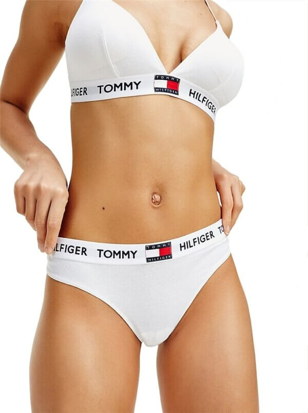 Tangá Tommy Hilfiger Tommy 85 Thong biele YCD 02