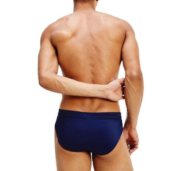 Tommy Hilfiger plavky pánske Essential Swim Briefs CUN modré_02