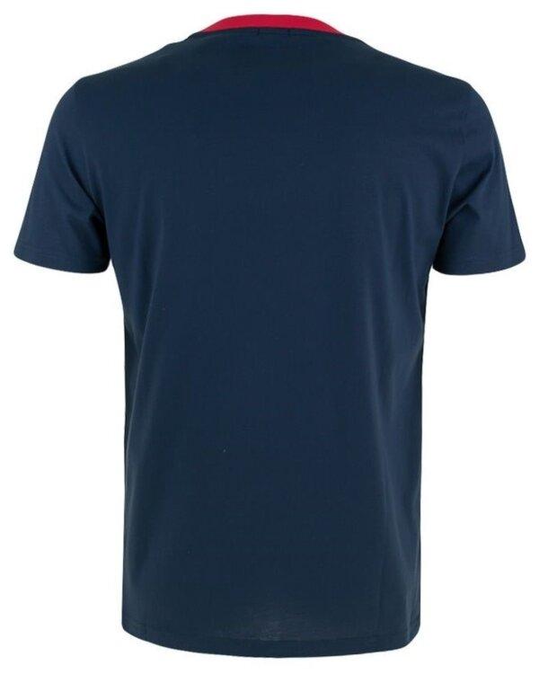 Tommy Hilfiger tričko pánske CN SS Tee Print CHS modré_01