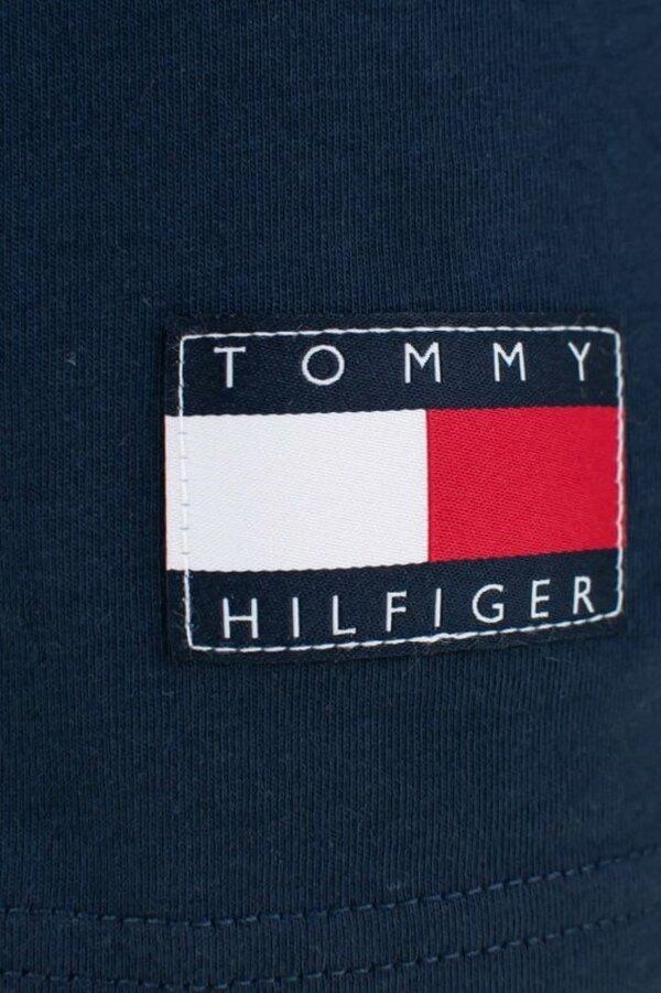 Tommy Hilfiger tričko pánske CN SS Tee Print CHS modré_02