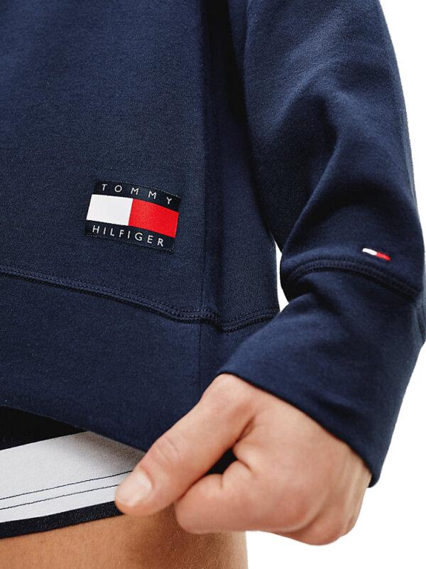 Tommy Hilfiger mikina pánska Track Top Logo modrá CHS_2