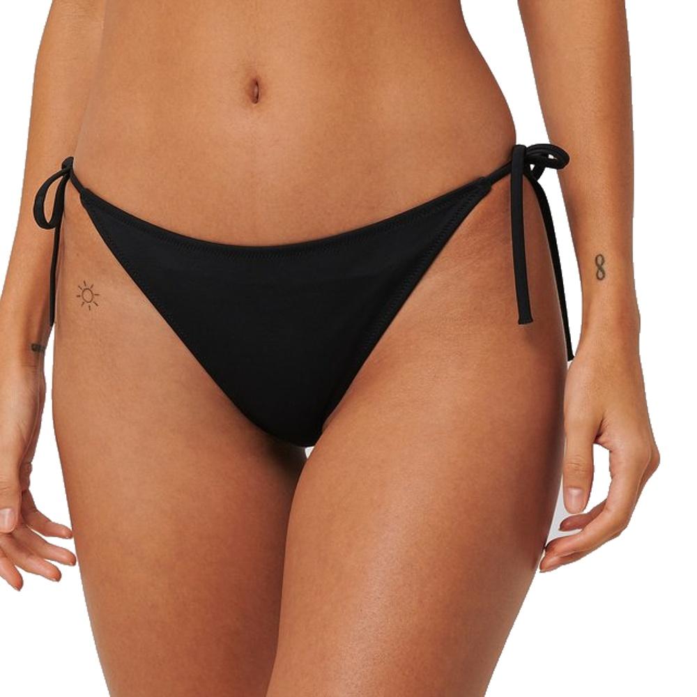 Calvin Klein plavky dámske Cheeky String Side Tie BEH čierne