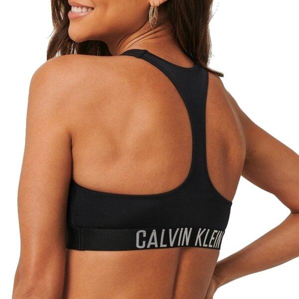 Calvin Klein plavky dámske Zip Bralette RP BEH čierne_01b