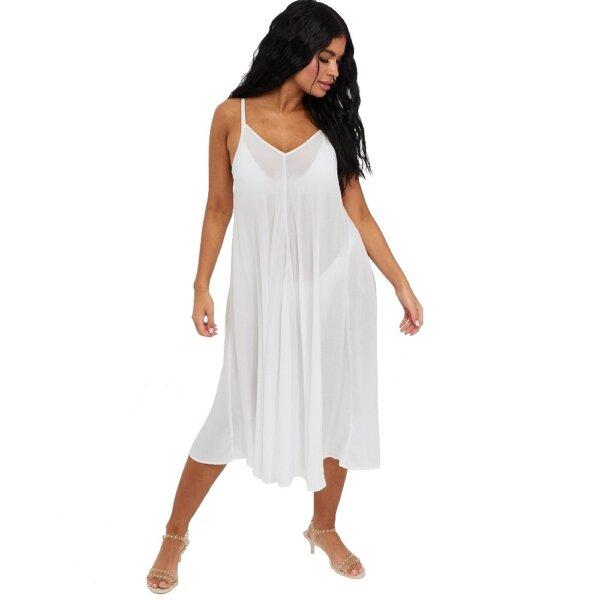 Calvin Klein šaty Beach Dress biele