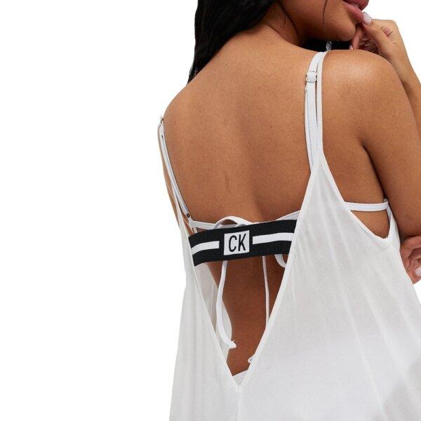 Calvin Klein šaty Beach Dress biele_01