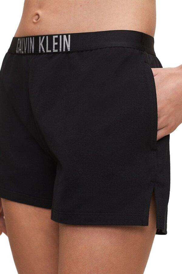 Calvin Klein šortky dámske Beach Short Intense Power BEH čierne_01