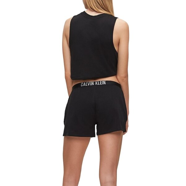 Calvin Klein šortky dámske Beach Short Intense Power BEH čierne_03