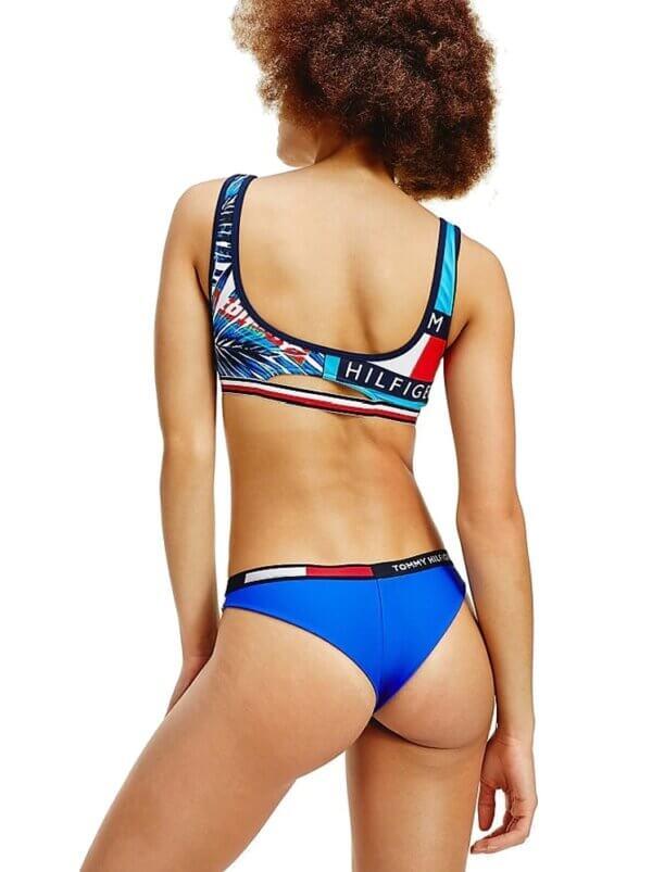Tommy Hilfiger plavky dámske-podprsenka-bralettka Contrast Print Bralette 0K5_03