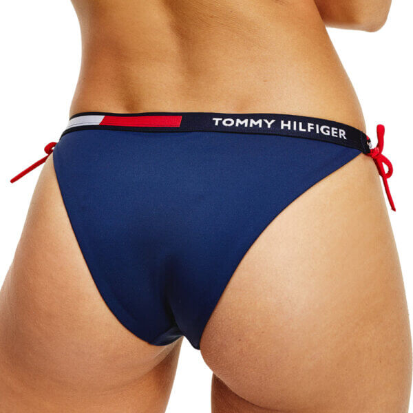 Tommy Hilfiger plavky dámske Cheeky Side String Side Bikini CUN modré_04
