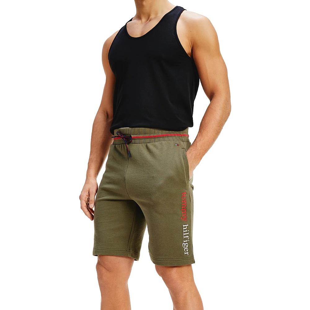 Tommy Hilfiger šortky pánske Drawstring Shorts LFH olivová
