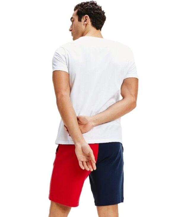 Tommy Hilfiger tričko pánskeCrew Neck Logo T-Shirt YCD biele_02