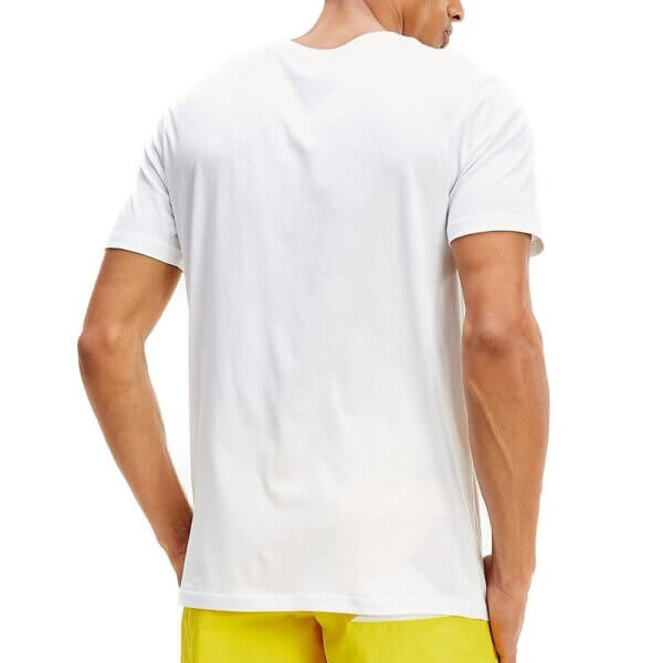 Tommy Hilfiger tričko pánske Crew Neck Logo Tee YCD biele_02