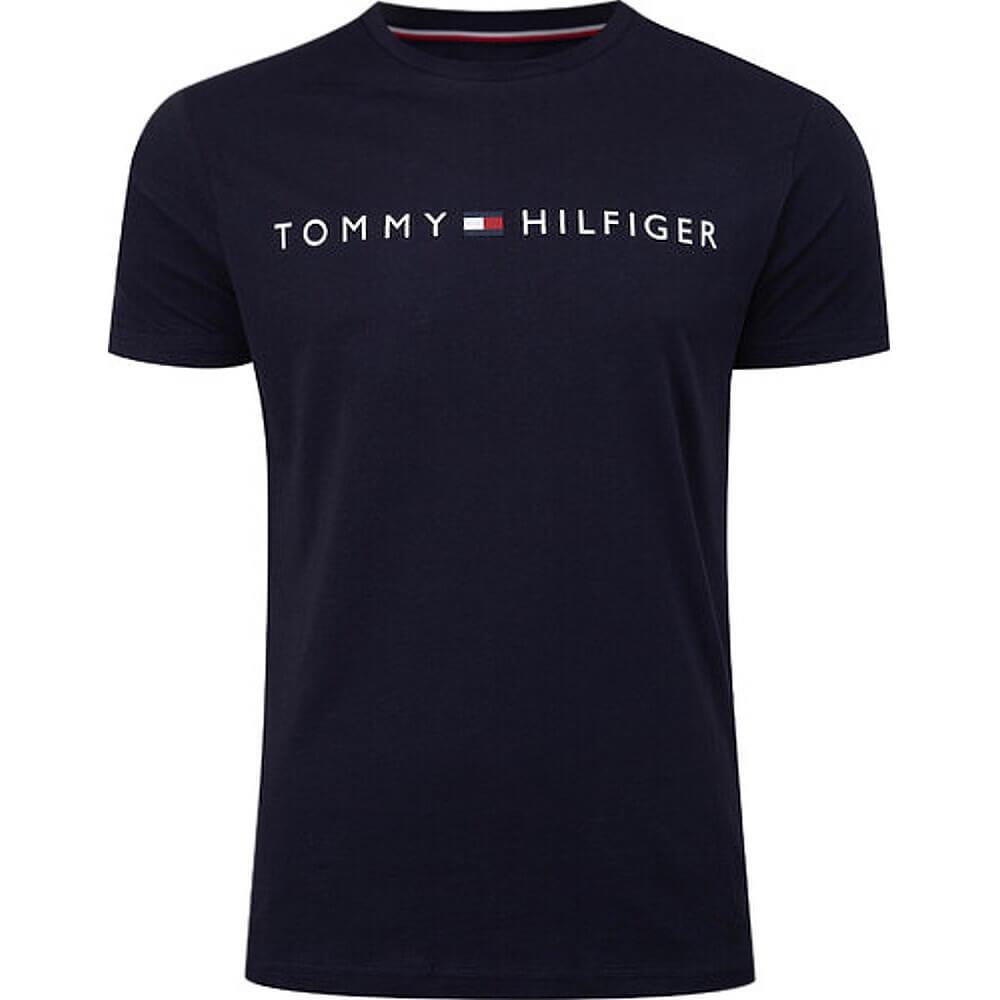 Tommy Hilfiger tričko pánske Crew Neck Logo T-Shirt CHS modré