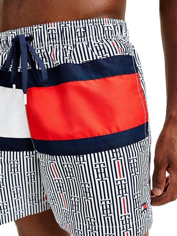 Tommy Hilfiger plavky pánske Logo Swim Shorts Print 0K7