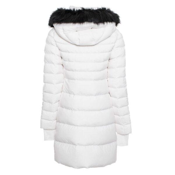 Tommy Hilfiger kabát dámsky páperový bunda Pamela Stretch Coat biela 03