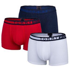 Tommy Hilfiger boxerky pánske 3 Pack Trunk tricolor 0XY