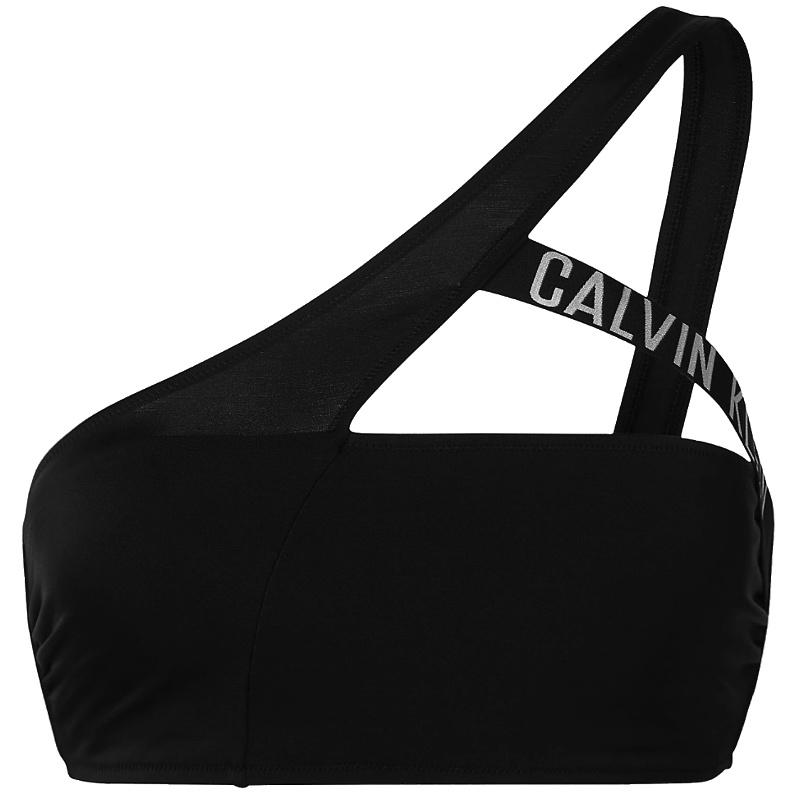 Calvin Klein plavky dámske podprsenka Cut Out Bralette-RP KW0KW01300 BEH čierna