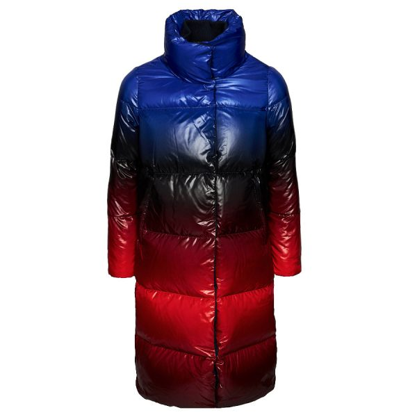 Dámsky kabát Tommy Hilfiger Icon Ombre Down Coat